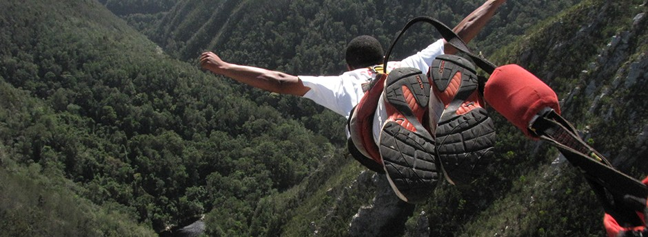 We'll transport you to Bloukrans River Bridge, so you can calm your nerves, as you experience the extreme thrill of the highest commercial bungee jump in the world.